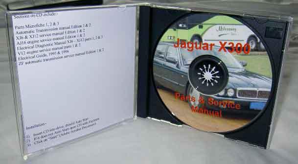 jaguar x300 range manuals and parts list in cd format rh classic spares net jaguar x300 service manual free download jaguar x300 service and repair manual
