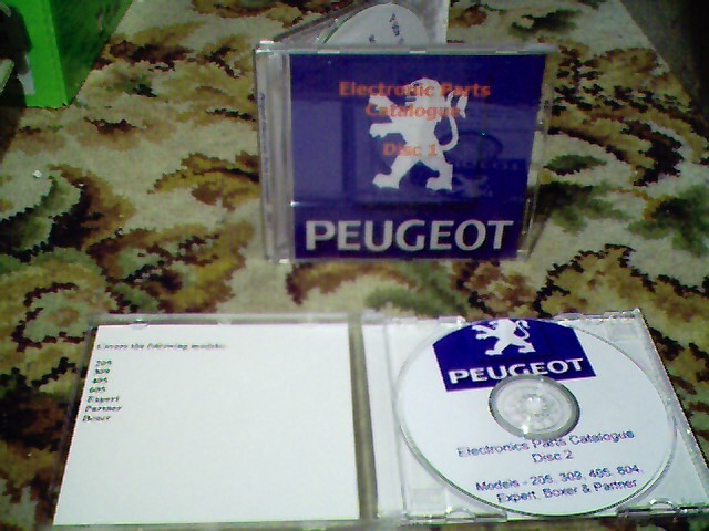 electronic parts catalogue (epc) on cd